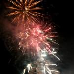 Fireworks at Blackthornes