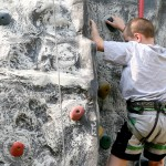 Rock climbing at Blackthornes