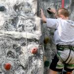 Rock climbing at Blackthornes