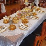 Steampunk Tea Party Setting at Blackthorne Resort