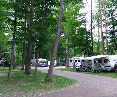 Camping & RV Rates
